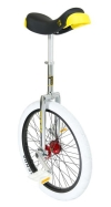 monocicli: Qu-ax Freestyle White 20''